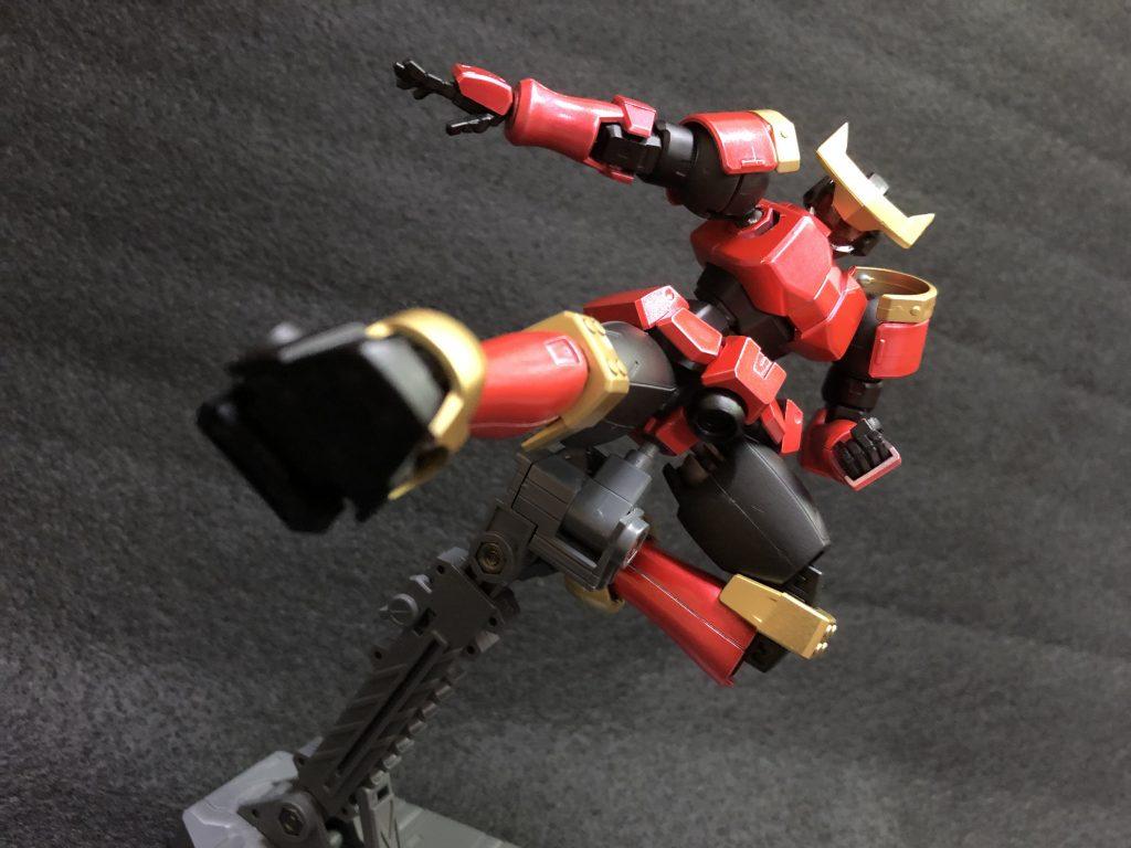 リーオー改造、ヒーロー! アピールショット6