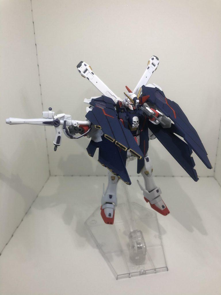 HG クロスボーン・ガンダムX1フルクロス 制作工程4