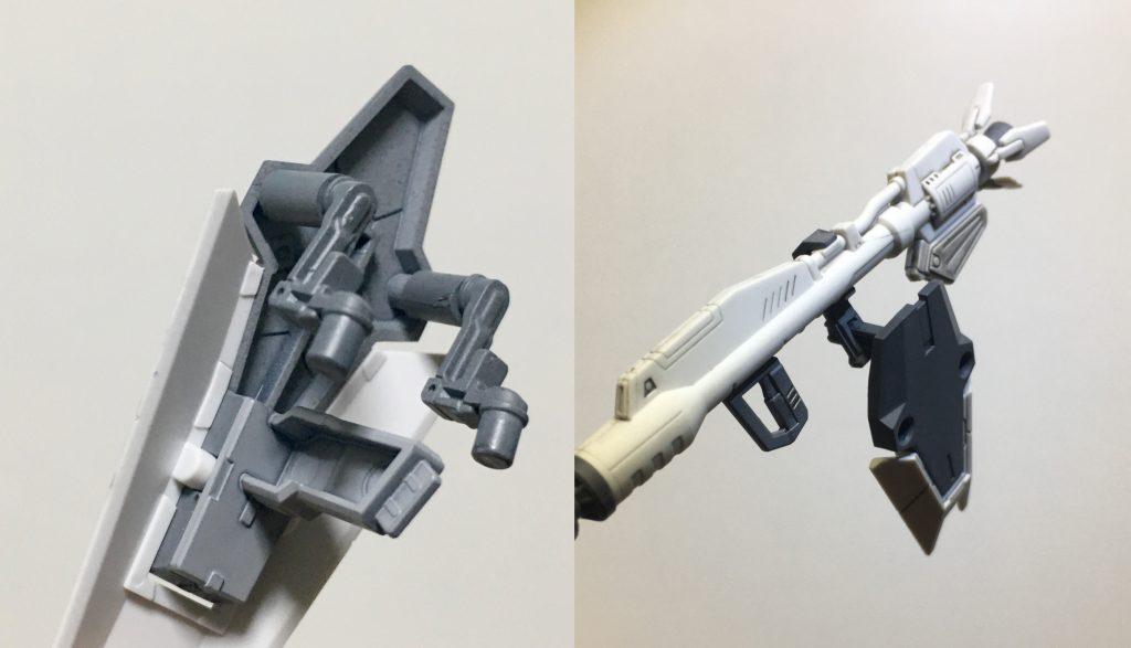 コアガンダム X F91アーマー 制作工程1
