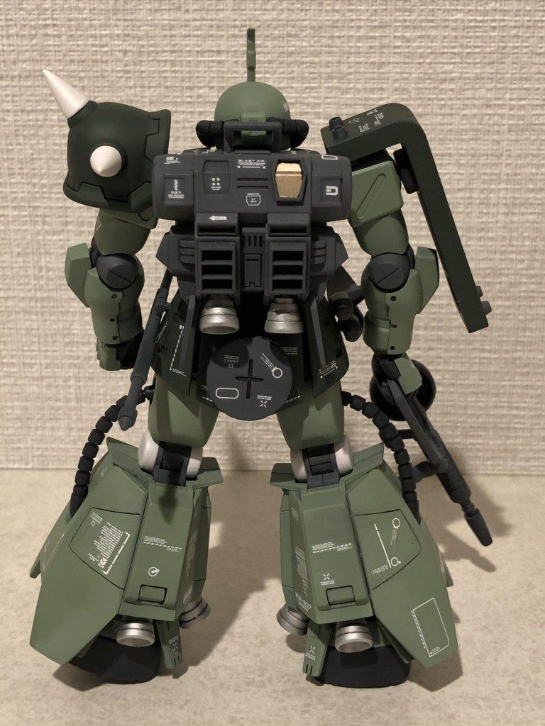 高機動型ザクII アピールショット3