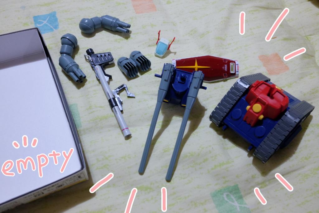 ガンダムブレイカーモバイルの話 ver,2 制作工程4