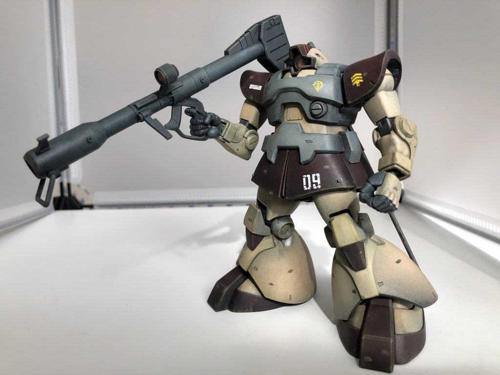 MS-09 ドム アピールショット6