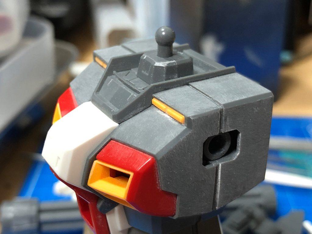 MG 1/100 ガンダム5号機 制作工程3