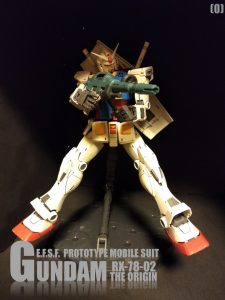 RX-78-02 GUNDAM THE ORIGIN No1