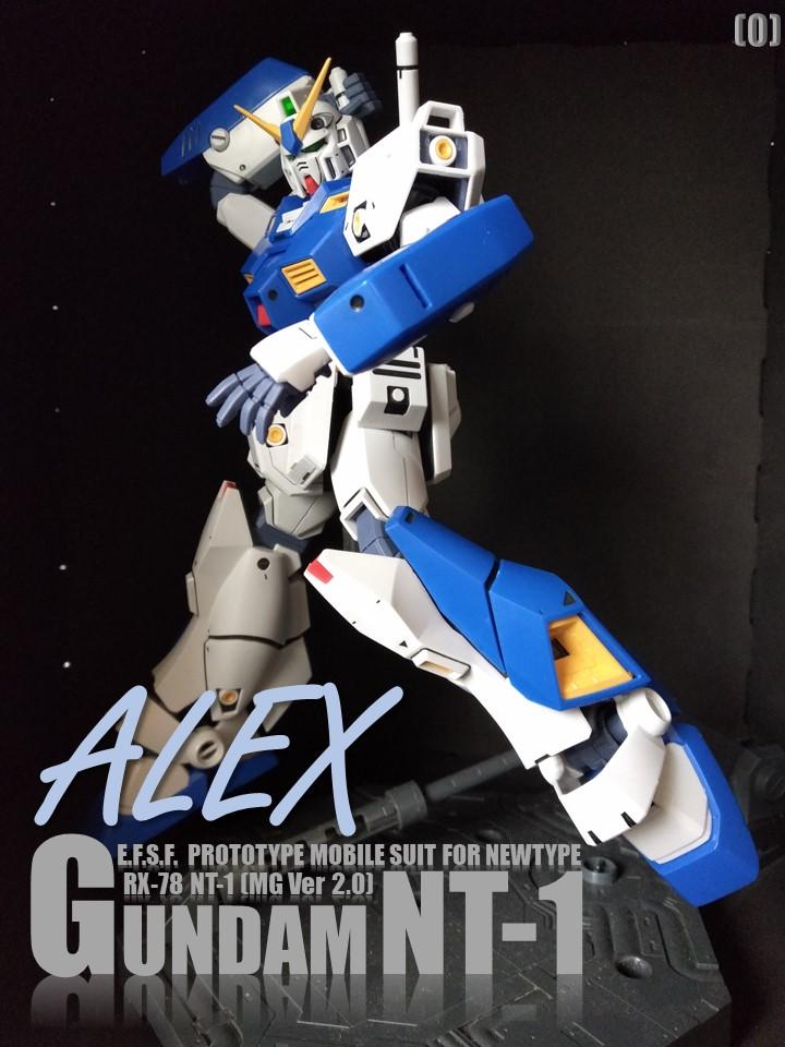 RX-78 NT-1 GUNDAM NT-1 No1