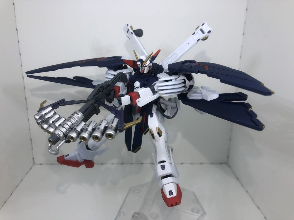 HG クロスボーン・ガンダムX1フルクロス 制作工程1