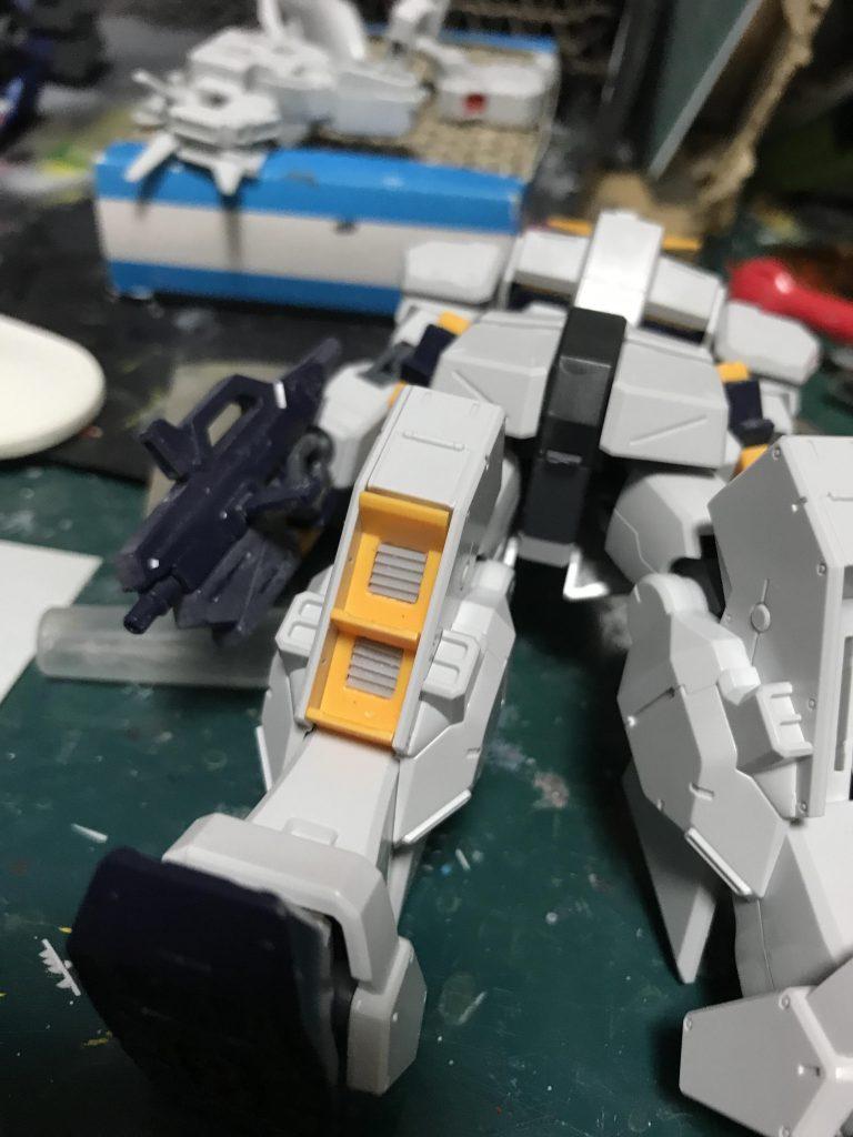 HGUC ガンダムヘイズル 制作工程1