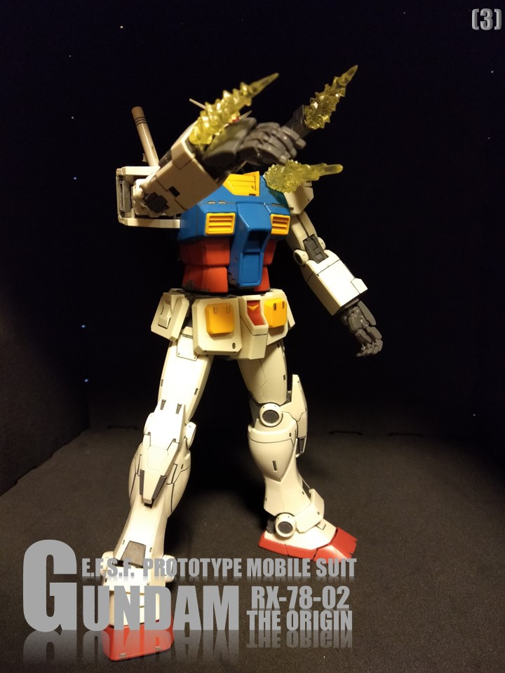 RX-78-02 GUNDAM THE ORIGIN No1 アピールショット3