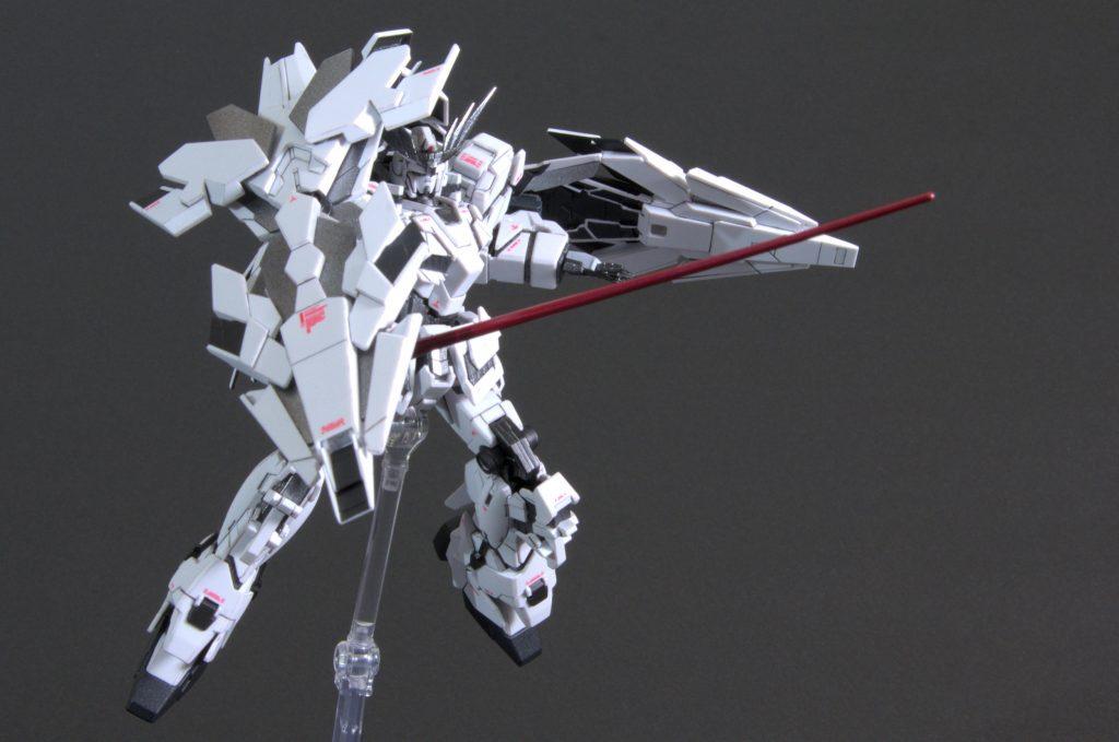 HG ユニコーンガンダム -mono- アピールショット6