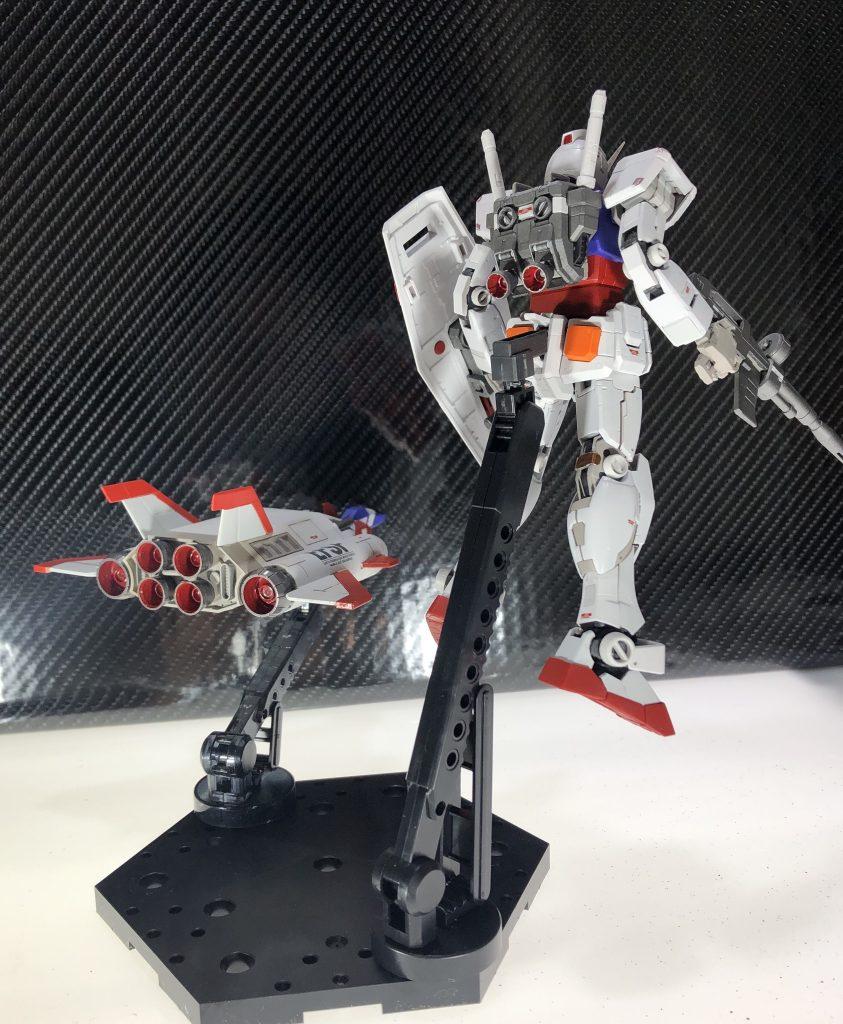 RGガンダム&コアブースター アピールショット2
