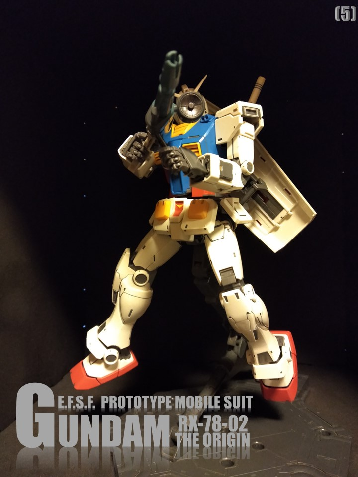 RX-78-02 GUNDAM THE ORIGIN No1 制作工程1