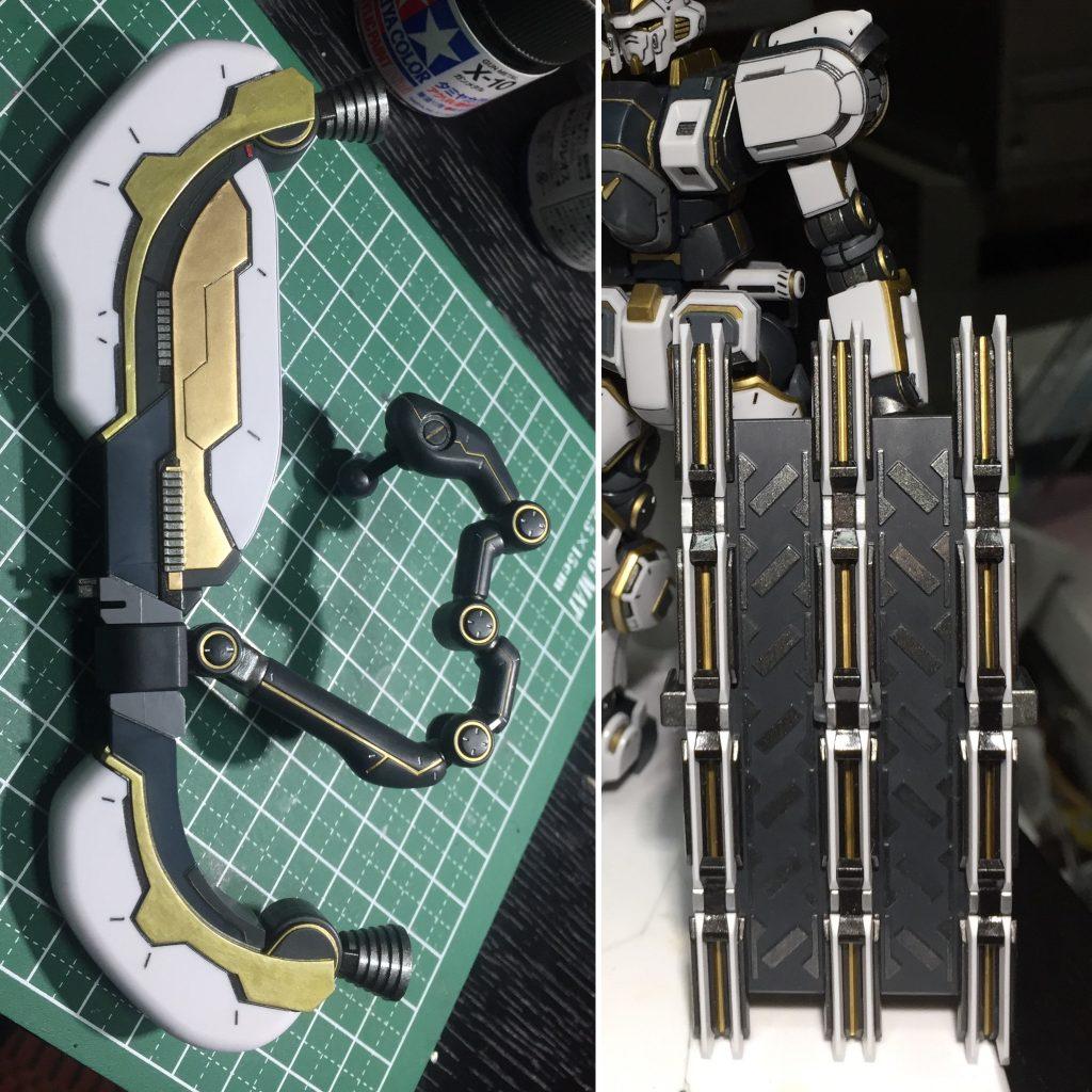HGアトラスガンダム 制作工程2