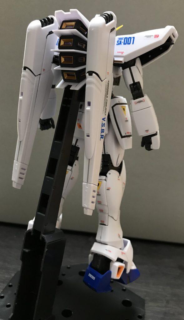 MG F91 ガンダムF91(オリジナルプラン) アピールショット2