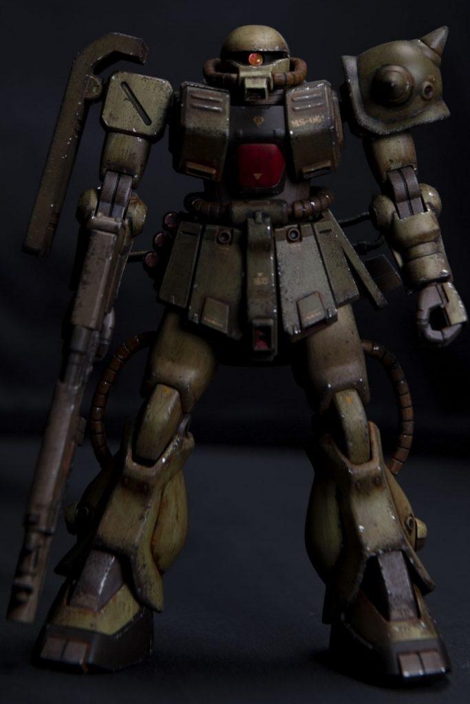 HG ザクⅡ改 アピールショット4