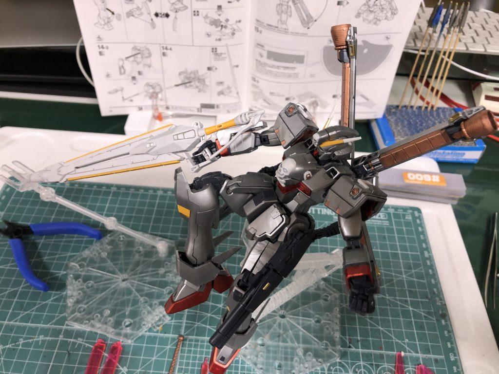 MG クロスボーンバンガードXO Ver.Ka アピールショット4