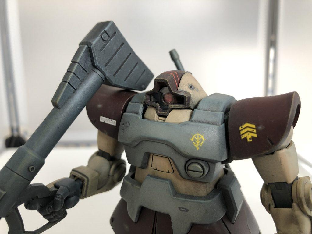 MS-09 ドム アピールショット5