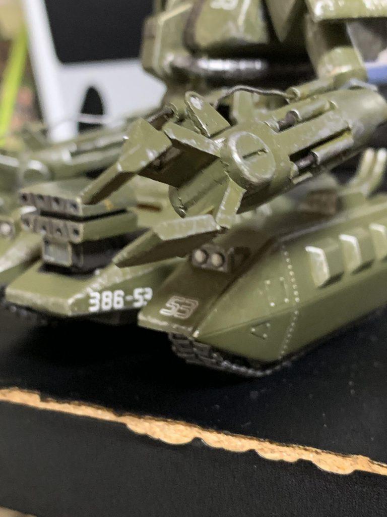 ザクタンク グリーンマカク アピールショット2