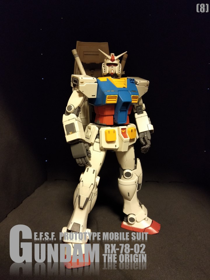 RX-78-02 GUNDAM THE ORIGIN No1 制作工程4