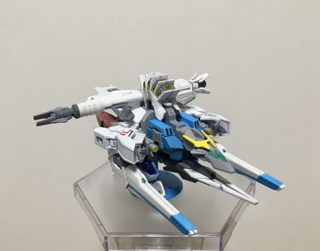 コアガンダム X F91アーマー アピールショット2