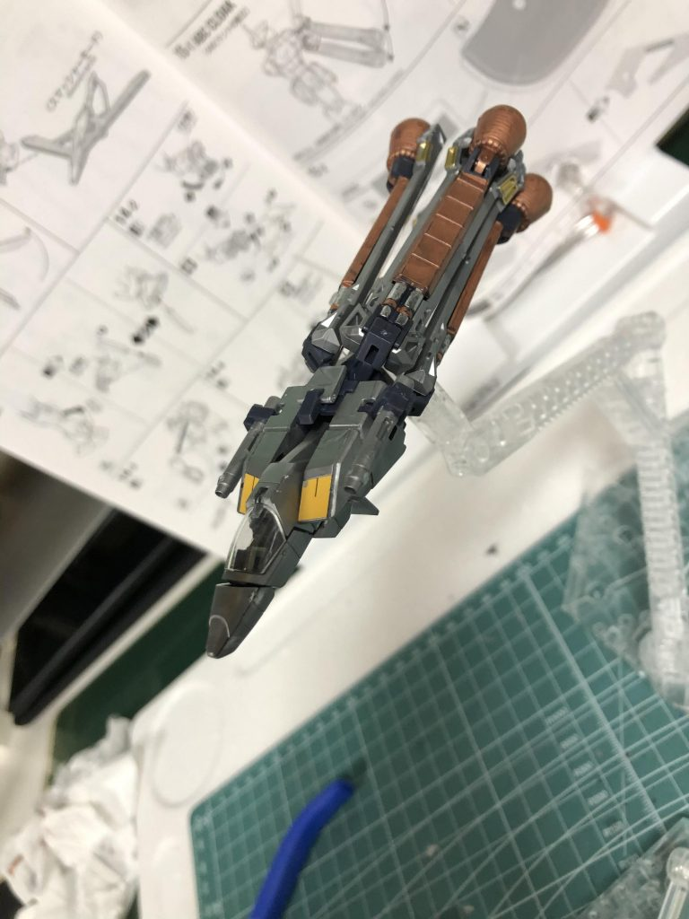 MG クロスボーンバンガードXO Ver.Ka アピールショット5