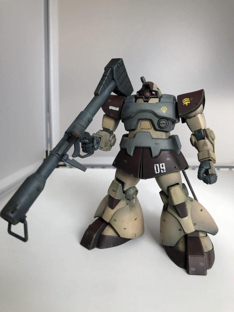 MS-09 ドム アピールショット1