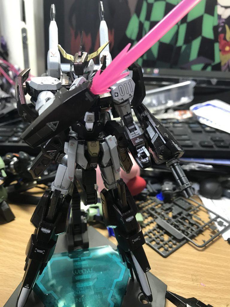 MGE-011X ガンダムカノープス アピールショット3
