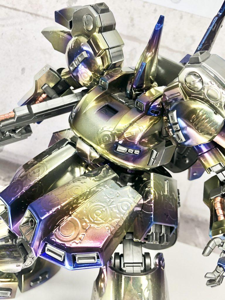MG THE-O チタン風塗装(焼鉄色 アピールショット4