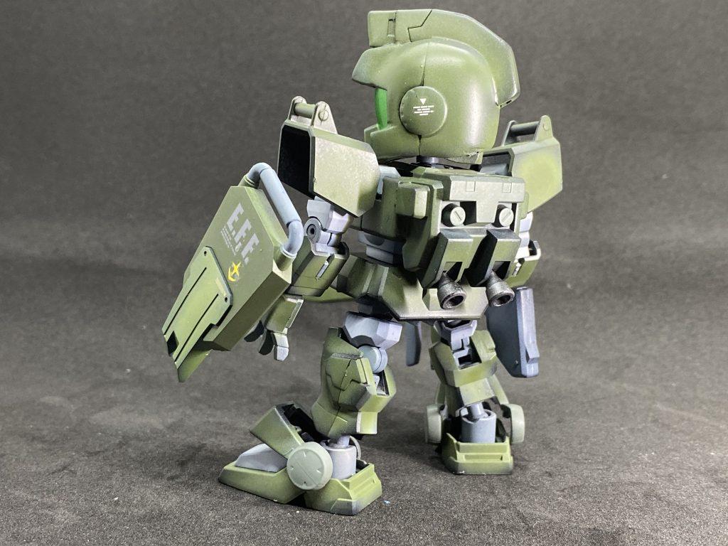 SD 陸戦型ジム アピールショット2