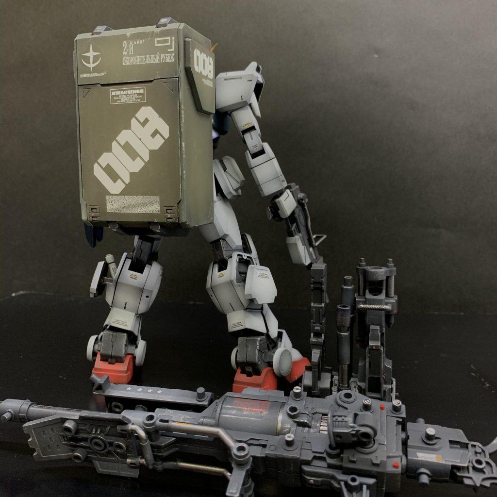 MG陸戦型ガンダム アピールショット3