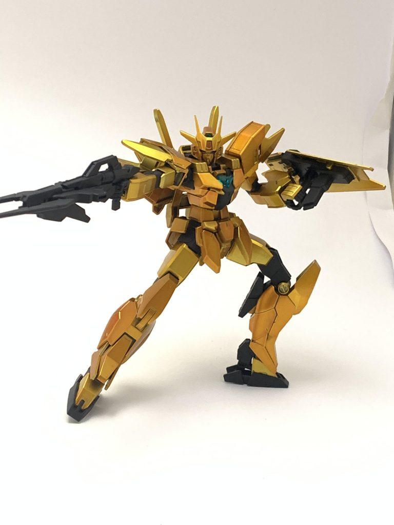 金色ガンダム 制作工程5