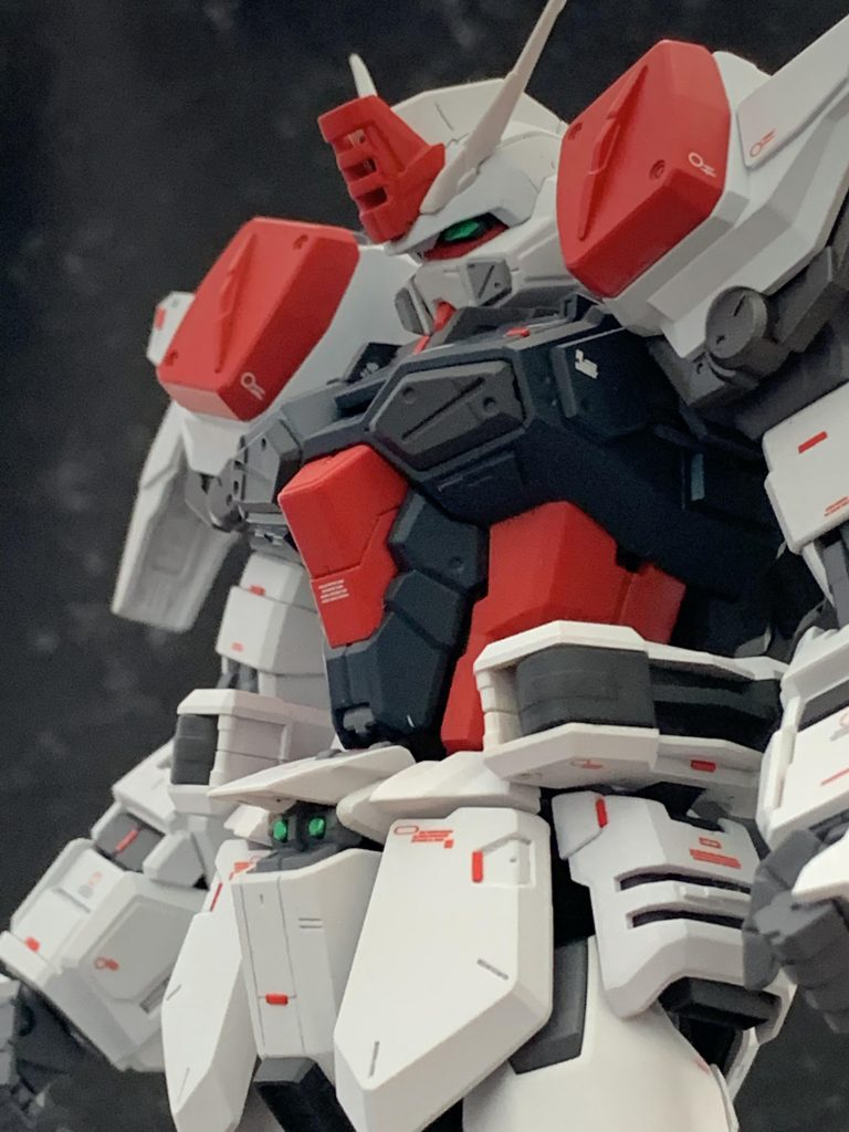 MG バスターガンダム 制作工程4