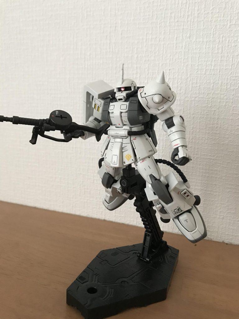 シン・マツナガ専用ザク アピールショット1
