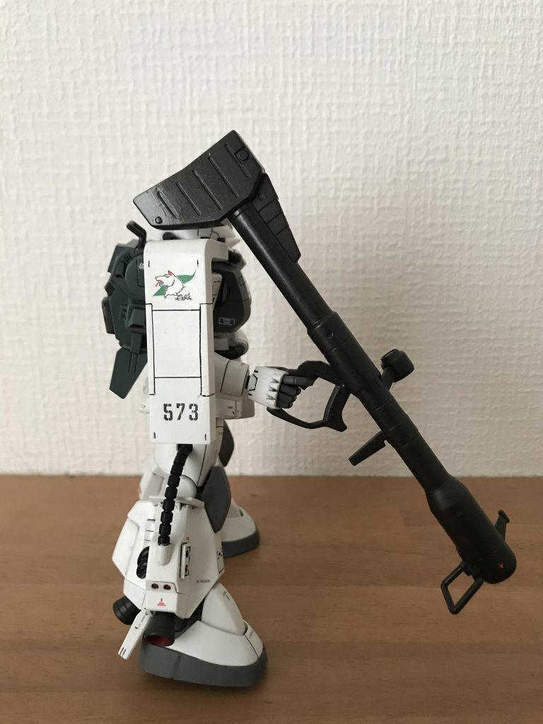 シン・マツナガ専用ザク アピールショット2