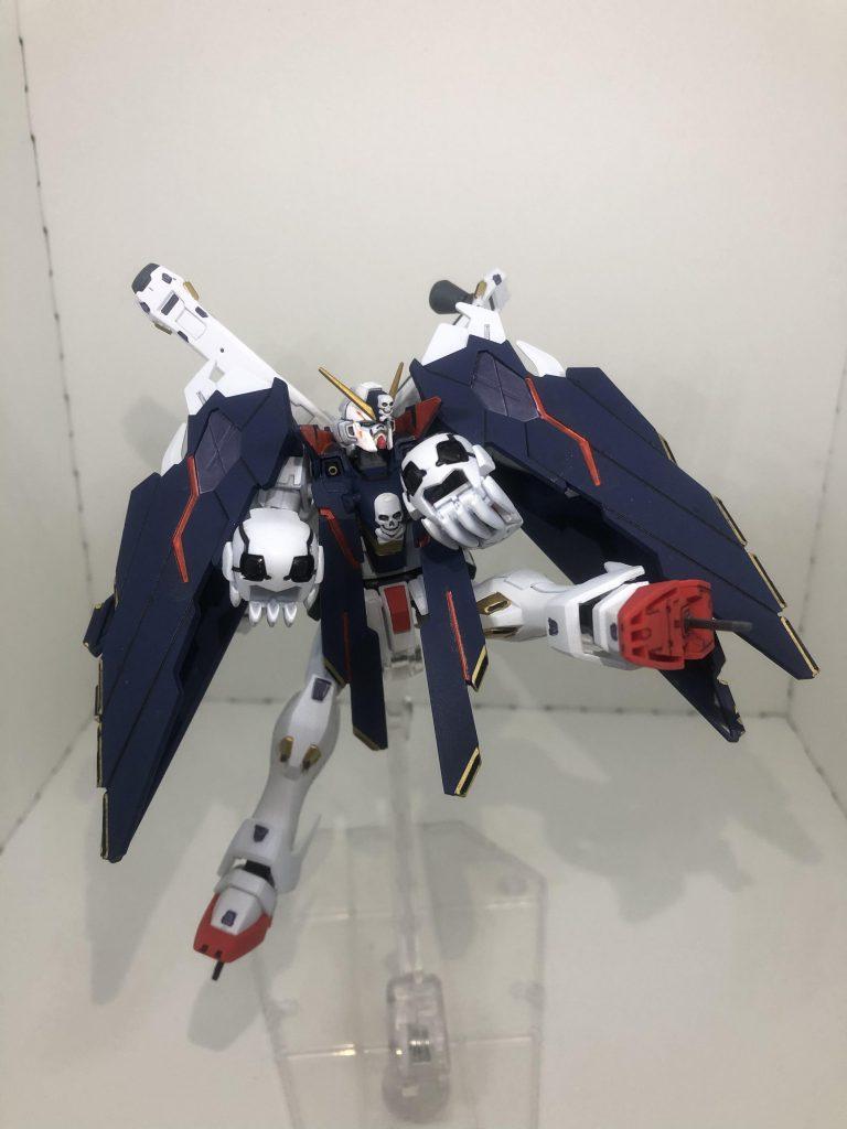 HG クロスボーン・ガンダムX1フルクロス 制作工程3