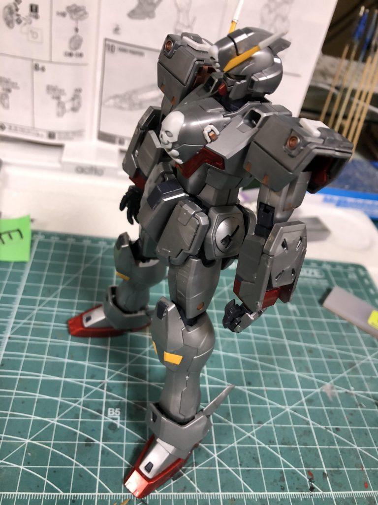 MG クロスボーンバンガードXO Ver.Ka 制作工程5
