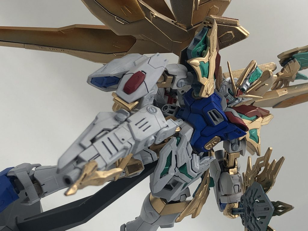 【リアルタイプ変形】諸葛亮フリーダム撃 制作工程2