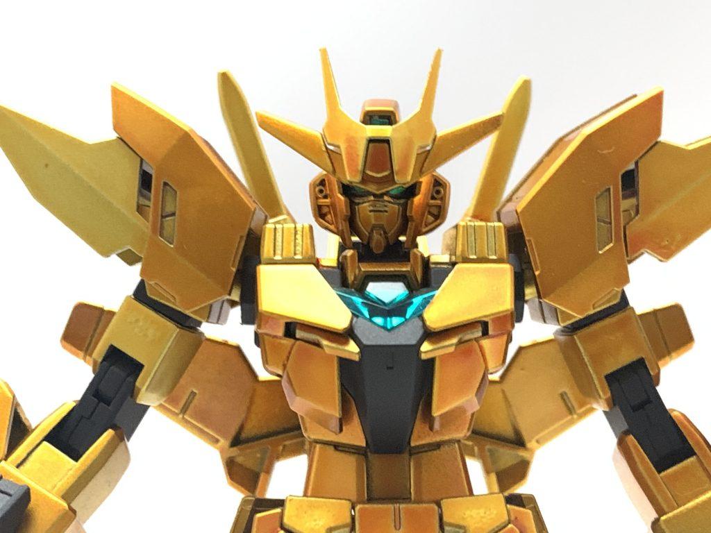 金色ガンダム 制作工程3