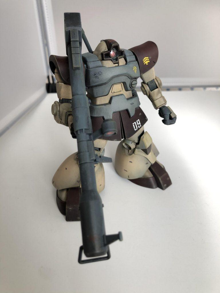 MS-09 ドム アピールショット4