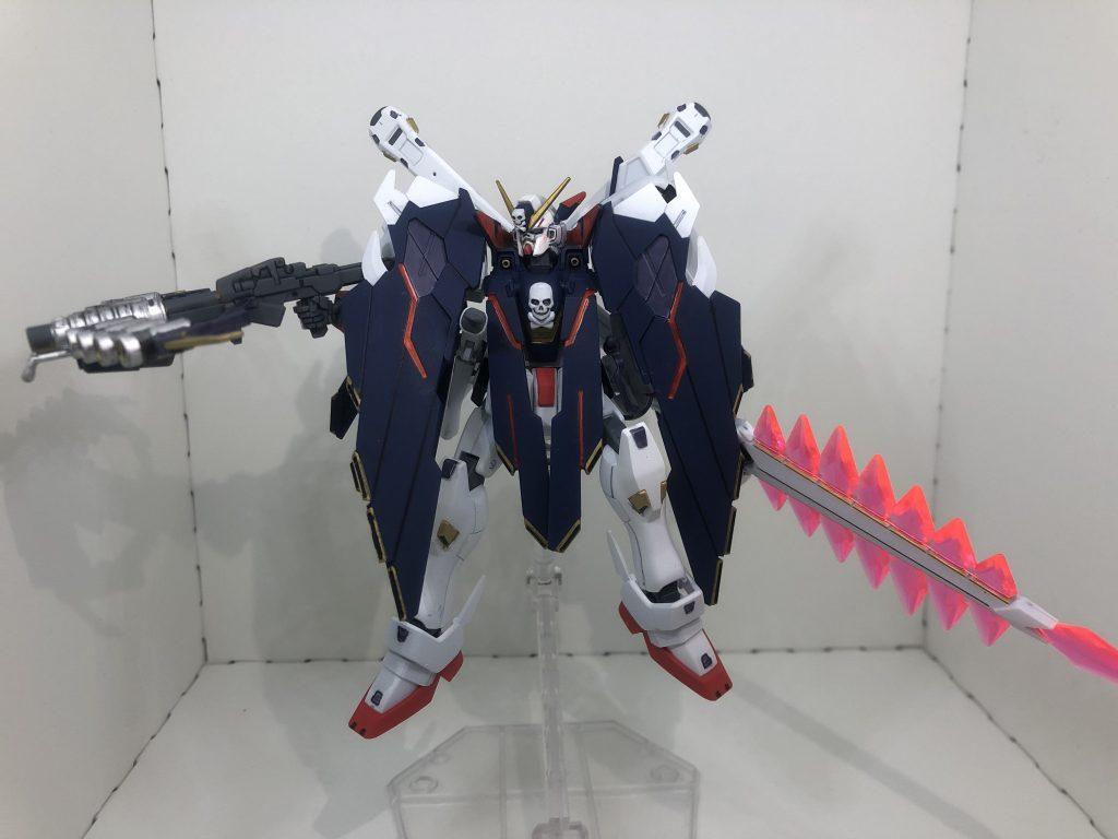 HG クロスボーン・ガンダムX1フルクロス アピールショット4
