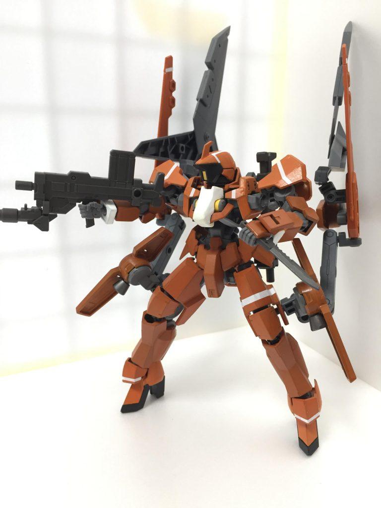 グレイズ(重力下訓練仕様機) アピールショット2