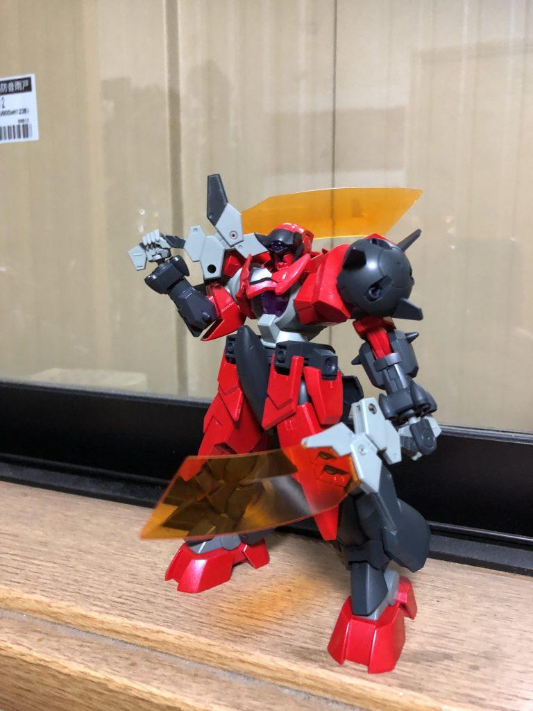 オーガ刃-X アピールショット1