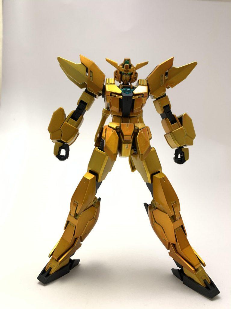 金色ガンダム 制作工程1