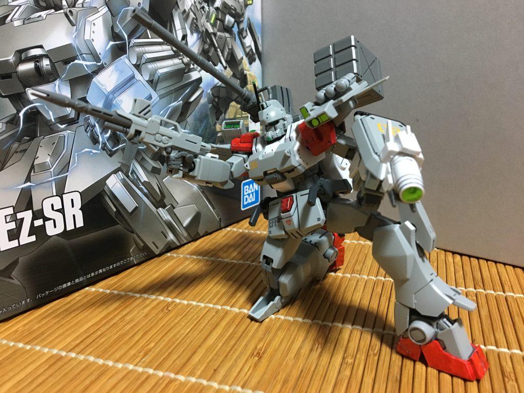 ガンダムEZ-8 ビルドウエポンカスタム アピールショット3
