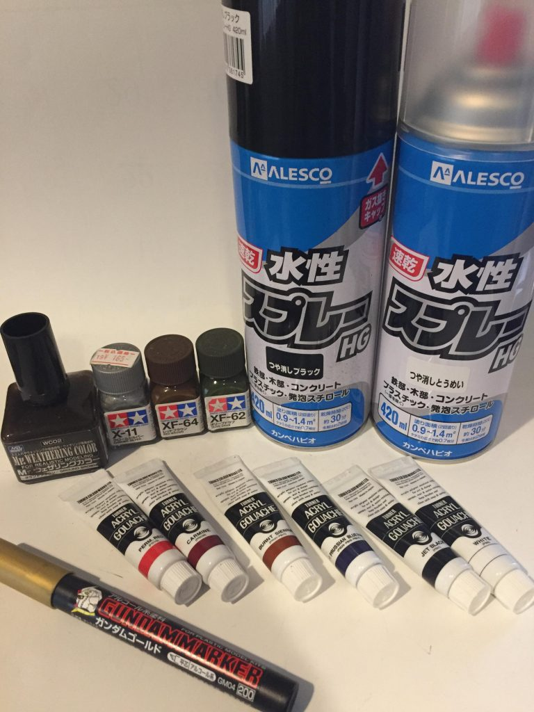 HGティエレン筆塗り塗装 アピールショット1