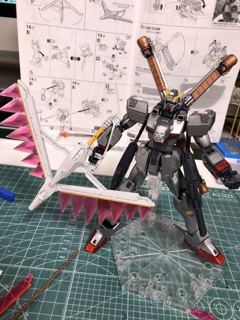 MG クロスボーンバンガードXO Ver.Ka アピールショット3