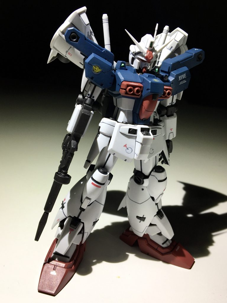 GP01-fb(ガンダム 試作1号機フルバーニアン) アピールショット1