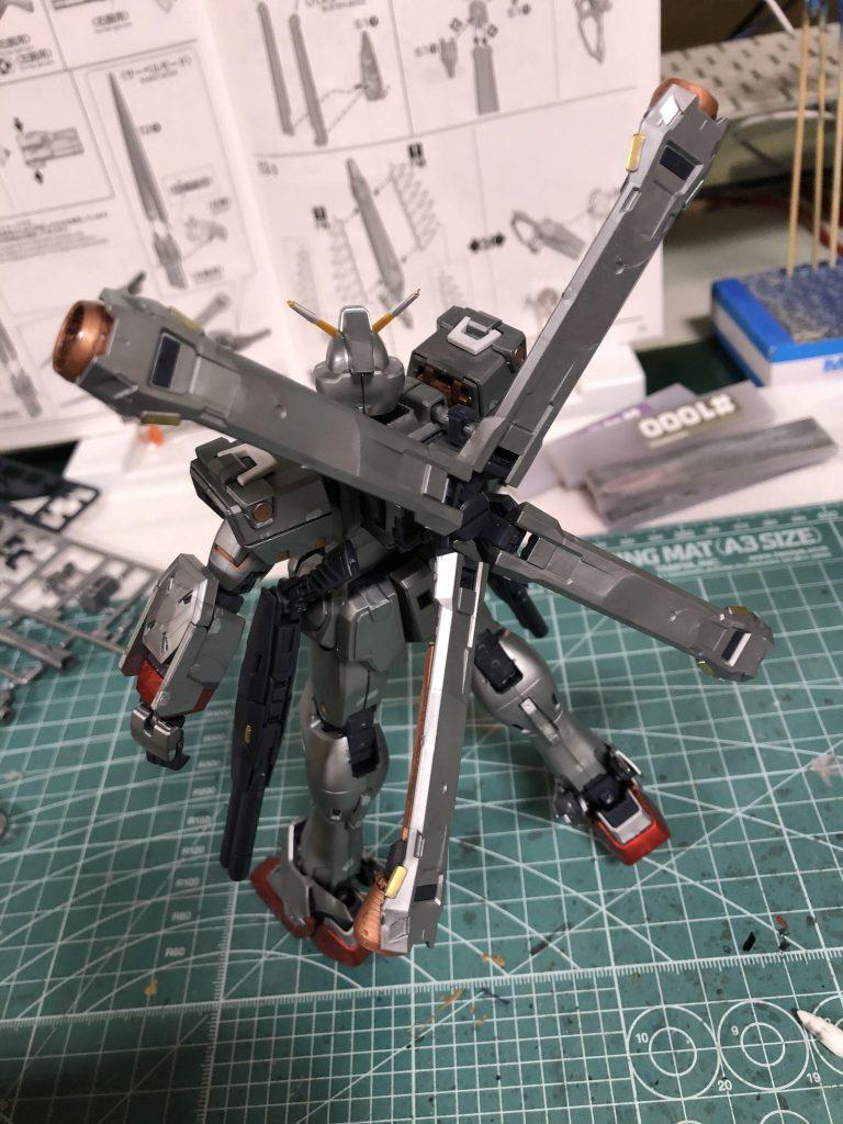 MG クロスボーンバンガードXO Ver.Ka アピールショット7