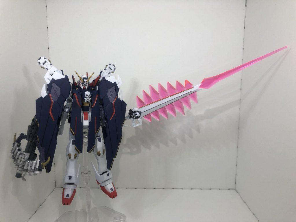 HG クロスボーン・ガンダムX1フルクロス アピールショット3