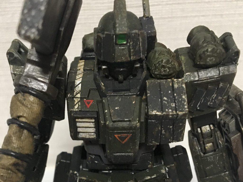 HG 陸戦浸透強襲型ジム  制作工程4