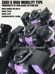 高機動型ザク(黒い三連星)